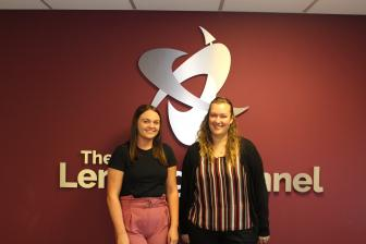 Zoe and Katriona join TLC