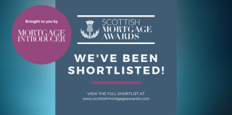 Shortlisted in 3 categories at Scottish Mortgage Awards